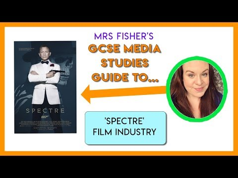 GCSE Media - Spectre & Film Industry - Simple Guide for Students & Teachers