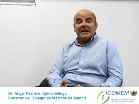 Entrevista al Dr. Angel Asensio. Epidemiólogo y Portavoz del Colegio ...