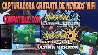 Capturadora Gratuita de NEW3DS Wifi compatible con Pokemon Ultrasol Ultraluna en ultima versión 1.2