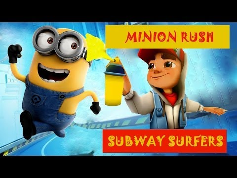 TOP-10 Android Runners №2: Subway Surfers, Гадкий Я(Minion Rush) - review and compare