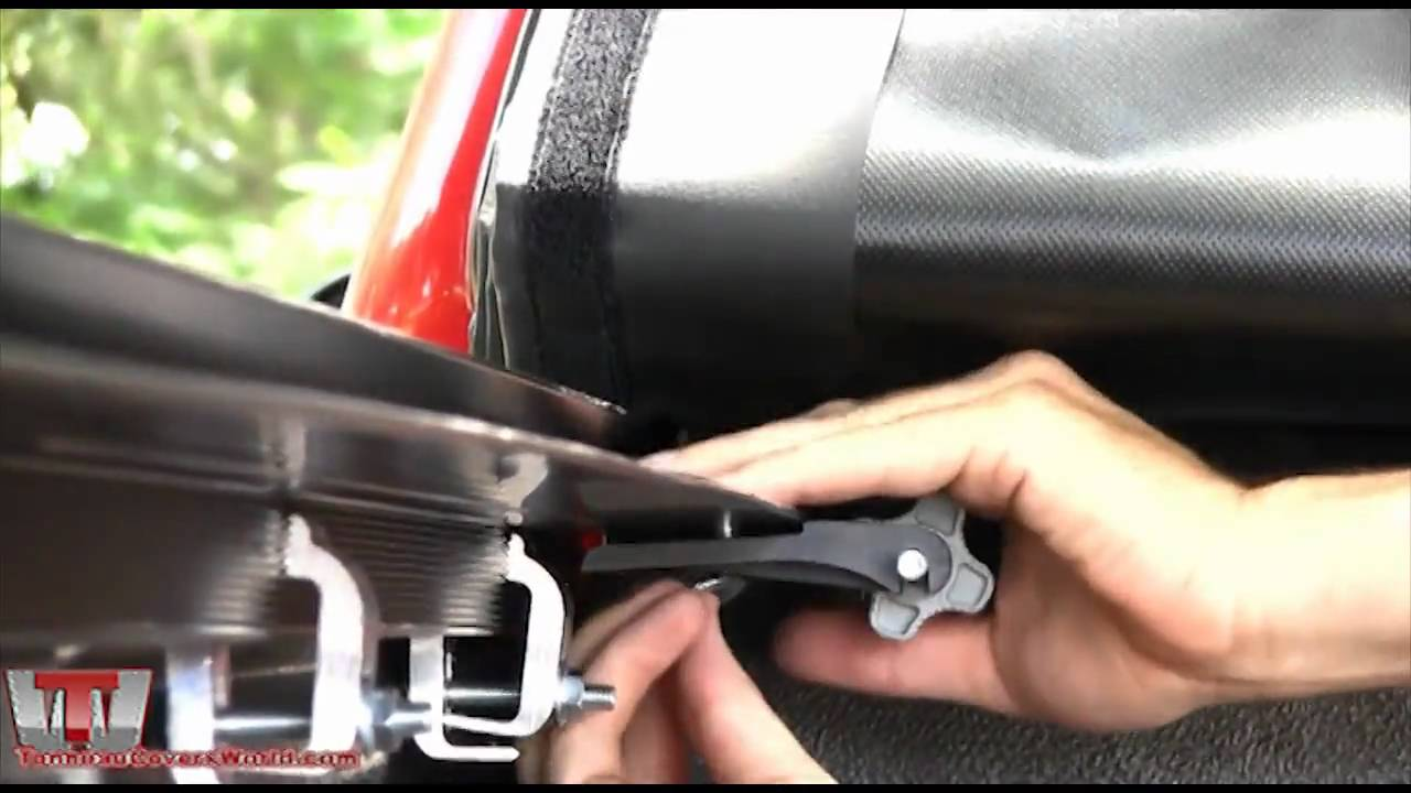 access lorado tonneau cover installation on ford f-150 - youtube