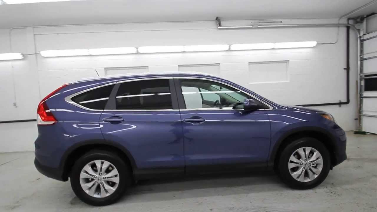 2014 honda cr v ex l twilight blue eh646485 seattle renton youtube. Black Bedroom Furniture Sets. Home Design Ideas
