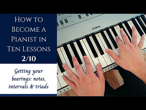 How to Become a Pianist in Ten Lessons - Lesson 2: Getting Your Bearings