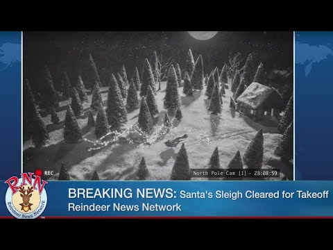 Reindeer News Network: Breaking Story #3: Will Santa's Sleigh Fly?