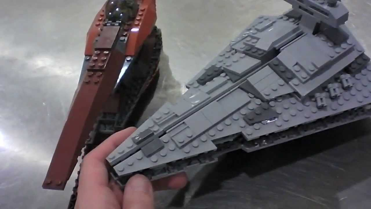 lego star wars midi scale star destroyer review youtube