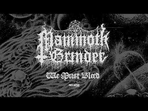 MAMMOTH GRINDER - We Must Bleed (Germs Cover) (Official Audio)