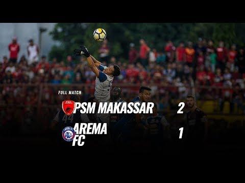 [Pekan 25] Cuplikan Pertandingan PSM Makassar vs Arema FC, 14 Oktober 2018