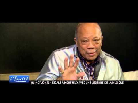 """Quincy Jones à Montreux : """"C'est le rêve de Claude Nobs qui se réalise"""""""