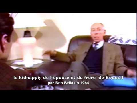 21 JUIN 1963, KIDNAPPING DE BOUDIAF  PAR BEN BELLA. ( TÉMOIGNAGE         DE BOUDIAF )