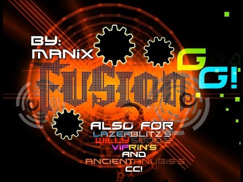 Geometry Dash - Fusion (Hard & Awesome Demon) by Manix648