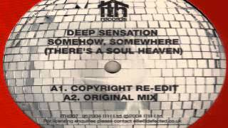 Deep Sensation ‎-- Somehow, Somewhere (There