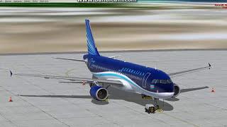 [FSX] UBBN-UBBB A320 Azerbaijan Airlines