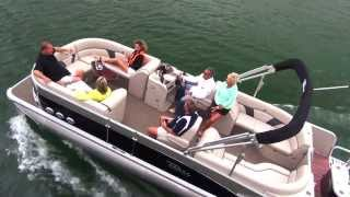 2014 Pontoon Boats - Avalon Windjammer Quad Lounge - Avalon Pontoons - C Series
