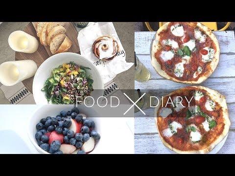 XXL FOOD DIARY | MIT LAUFEN ANFANGEN, FOOD PREP, KUCHEN & GESUNDE SÜßIKGEITEN, FOOD HAUL | #17