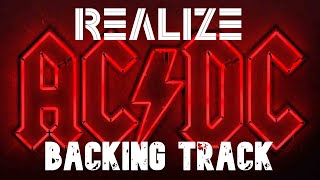 AC/DC - Realize Guitar Backing Track