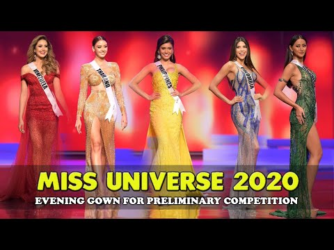 Evening Gown for Preliminary Competition Miss Universe 2020 - 2021