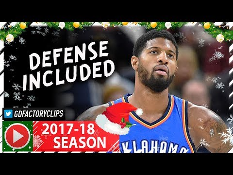 Paul George Full Highlights vs Jazz (2017.12.23) - 26 Pts, 6 Stls, LOCKING UP!
