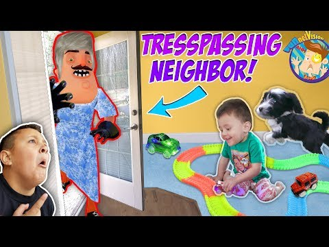 OUR NEIGHBOR BROKE INTO OUR HOUSE! Trespassing Problems + Puppy Takes Shawns Toy |FUNnel Vision Vlog