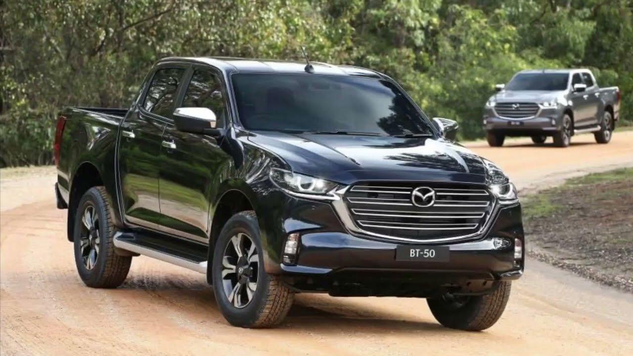 2021 mazda bt50 pickup 4x4 review walk around  new pick