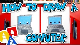 a computer drawing lesson