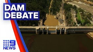 Sydney dams swamped with more water than it can handle | Nine News Australia