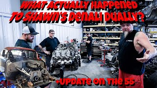 Update Time! Whats Up With Murder Nova's Denali Dually and What's New With The 55?!