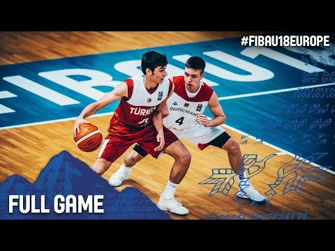 Germany v Turkey - Full Game - FIBA U18 European Championship 2017