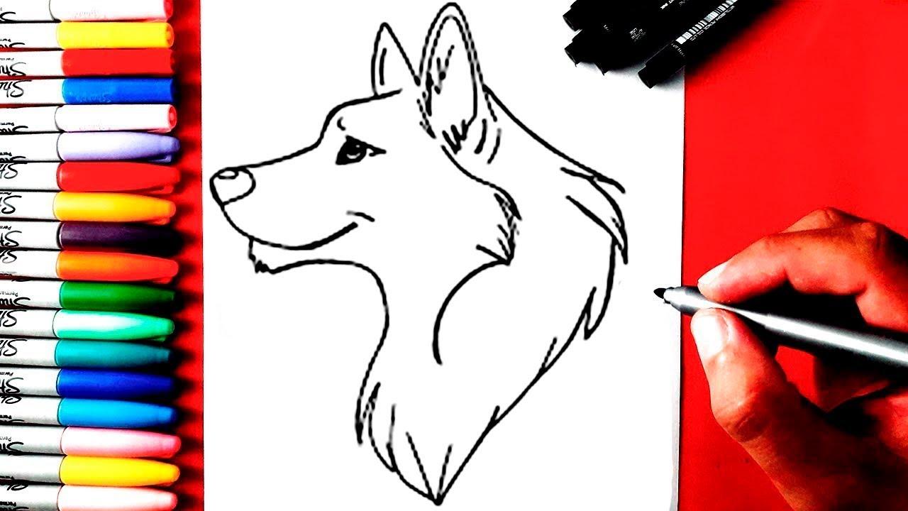Como Desenhar Um Lobo Youtube