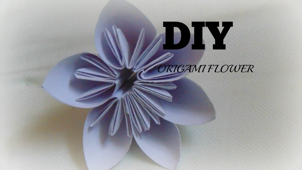 Paper craft how to make origami flower easy origamiorigami for paper craft how to make origami flower easy origamiorigami for kids youtube mightylinksfo Choice Image