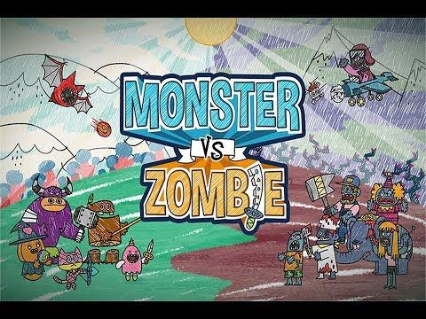 Trò Chơi Từ Tranh Vẽ Monster Vs Zombie – Top Game Mobile Hay Mỗi Ngày