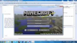 [SERIE]  Comment Créer Son Mod Sur Minecraft ☆ Episode 1 Ajout d'un Nouveau Block ☆