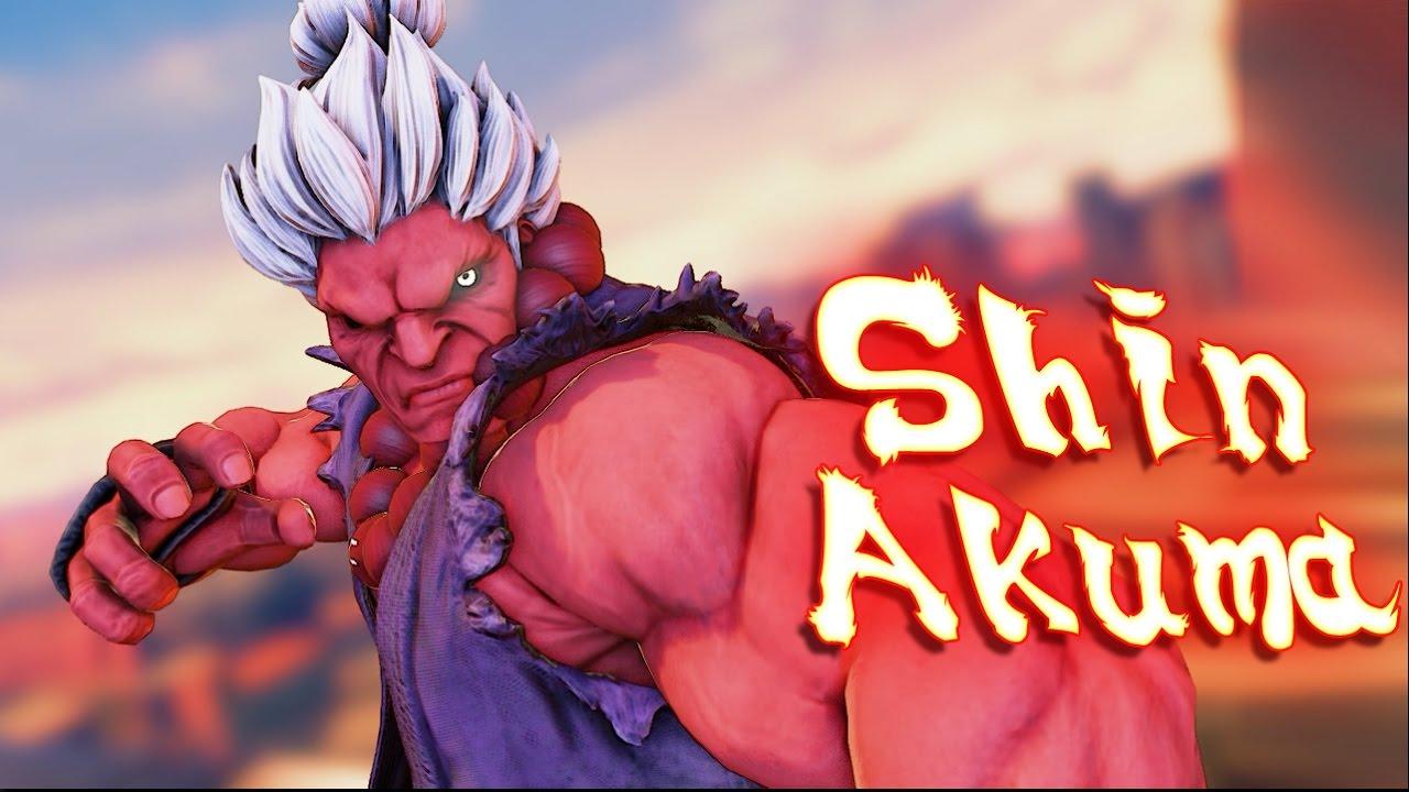 Street Fighter V PC mods - Shin Akuma skin color - shin Gouki by AWelshGuy