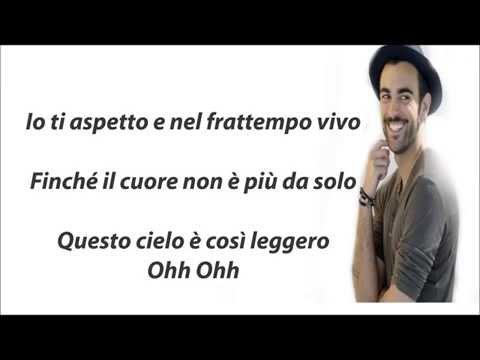 Marco Mengoni - Io ti aspetto +Testo