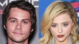 Dylan O'Brien Seen With Chloe Grace Moretz AGAIN + Chloe SHADES Brooklyn Beckham?!