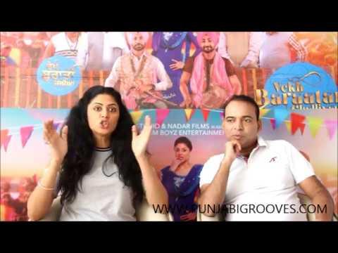 Live Interview With Ksshitij Chaudhary & Kavita Kaushik About Vekh Barataan Challiyaan