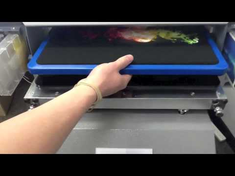 Direct To Garment Digitally Printed T-Shirts Tutorial From Rush Order Tees