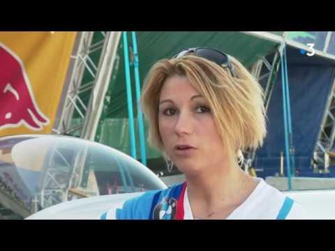 Rencontre avec Mélanie Astles Pilote de voltige aérienne - Red Bull Air Race Cannes