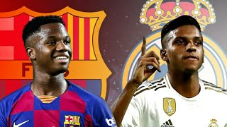 Ansu Fati Vs Rodrygo Goes - Goals & Skills - Who is Better ? - HD