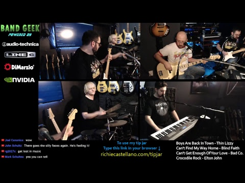 Live Solo Streaming Rock Show!