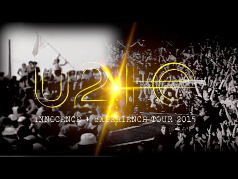 U2 - 26-05-2015 Los Angeles first songs -  iNNOCENCE + eXPERIENCE Tour
