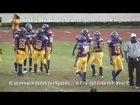 * * (IHSA Varsity Football) John Hope Eagles@James H Bowen Boilermakers