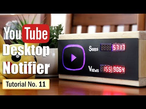 YouTube Desktop Notifier