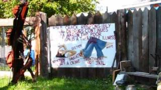 Detroit: Introduction to the Heidelberg Project - Street Art & Social Commentary