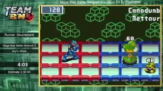 Mega Man Battle Network 3 by Mountebank - MMBN Marathon V5
