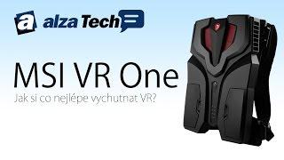 MSI VR One: PC s virtuální realitou na zádech! - AlzaTech #459