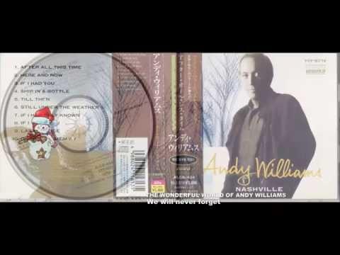 Andy Williams album    Nashville  1991    - Last Chance
