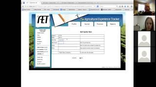 Tutoriel sur la façon d'utiliser les AET pour les Ag Ed et FFA tenue de documents