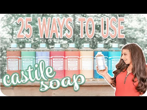 Dr Bronner's Castile Soap   What Is Castile Soap   Homemaker Tips