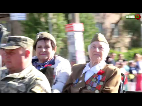 Марш Победы. Саксаганский район.