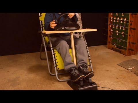 DIY 0$ Steering Wheel Mount in 20 min - Easy and Quick